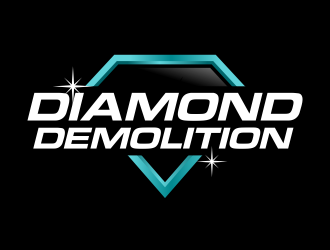 DIAMOND DEMOLITION logo design