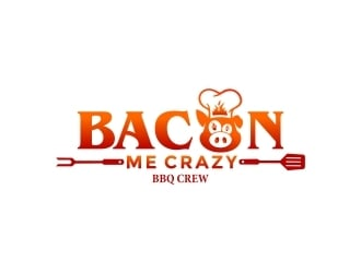Bacon Me Crazy logo design winner