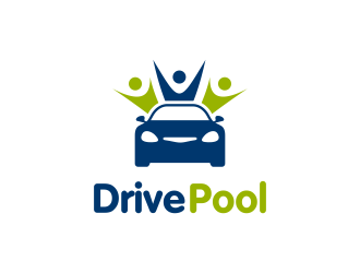 DrivePool logo design