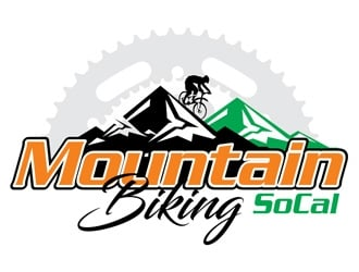 Mountain Biking SoCal logo design