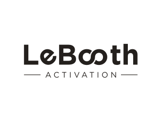 LeBooth Activation logo design