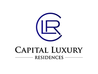 CLR - Capital Luxury Residences logo design
