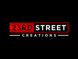 23rd Street Creations logo design