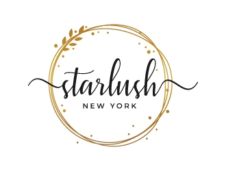 Starlush logo design