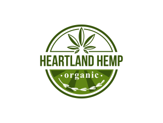 Heartland Hemp Organic logo design