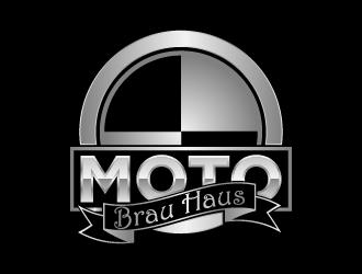 Moto Brau Haus logo design
