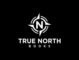 True North Books logo design