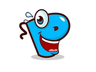 Lustige Witze logo design