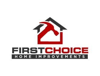 First Choice Home Improvements logo design