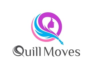 Quill Moves logo design