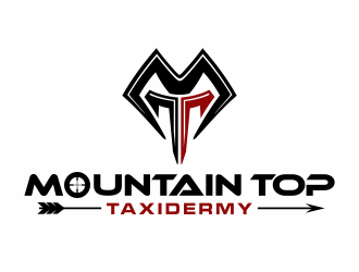 Mountain Top Taxidermy logo design