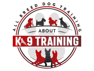 About K9 Training logo design