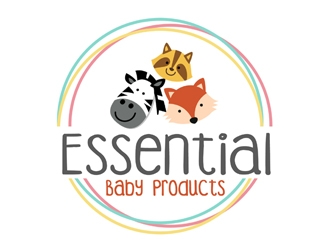 Essential Baby Products  logo design