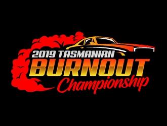 2019 Tasmanian Burnout Championship logo design