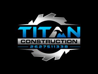 Titan Construction  logo design
