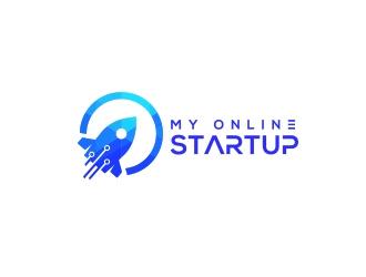 My Online Startup logo design
