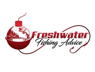 Freshwater Fishing Advice logo design