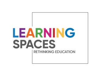 Learning Spaces logo design