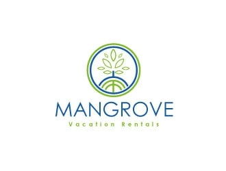 Mangrove Vacation Rentals logo design