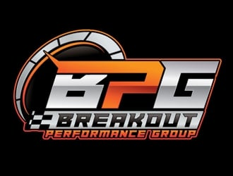 Breakout Performance Group  logo design