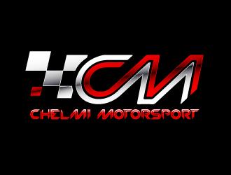 CHELMI MOTORSPORT logo design