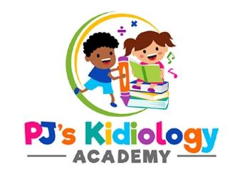 PJs Kidiology Academy logo design