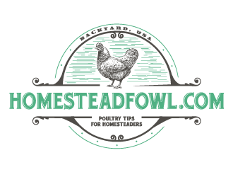 HomesteadFowl.com logo design