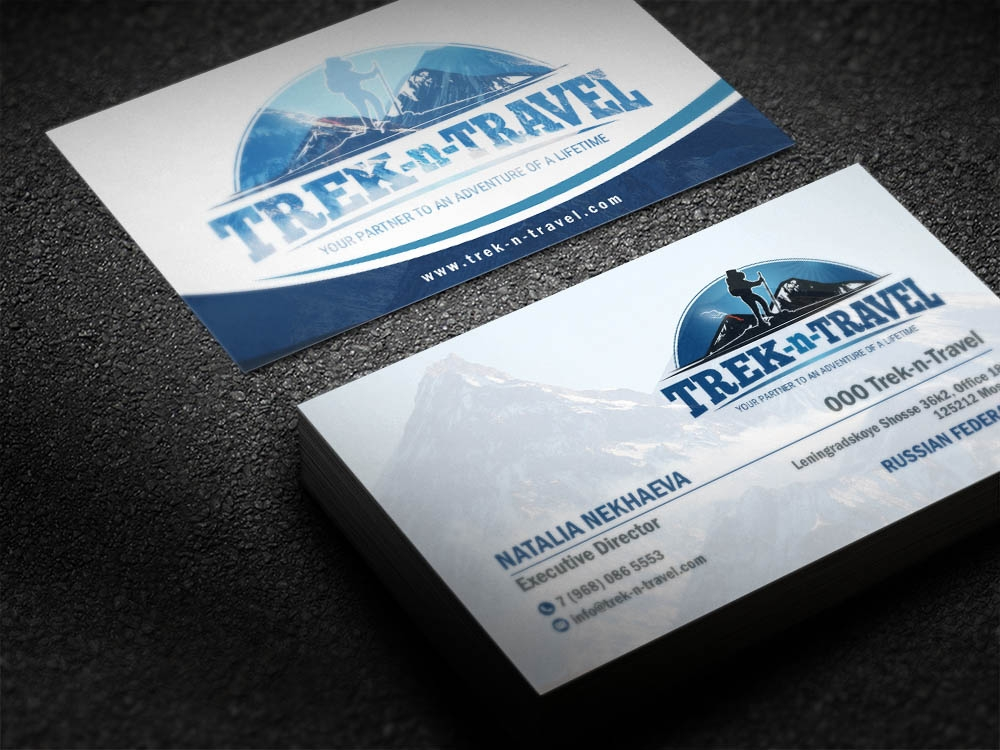 Trek-n-Travel brand identity winner