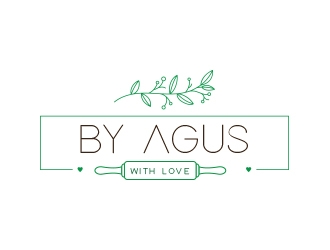 By Agus Witth Love logo design