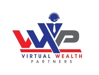 Virtual Wealth Partners logo design