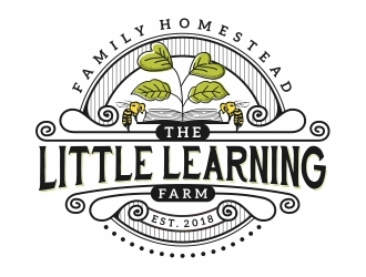 The Little Learning Farm logo design