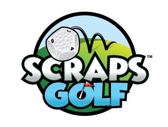 Scraps Golf logo design