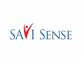 SAVI Sense logo design