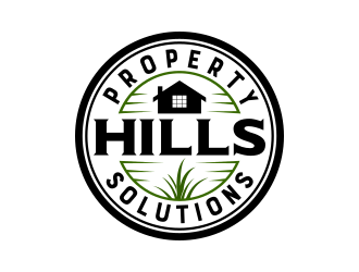 Hills Property Solutions logo design