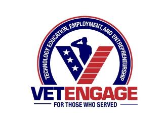 VetEngage logo design