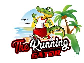 The Running Gator logo design