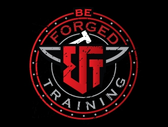 Be Forged Training logo design