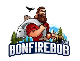 Bonfire Bob logo design