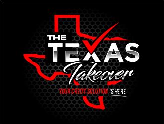 The Texas Takeover or Texas Takeover logo design