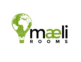 maeli rooms logo design