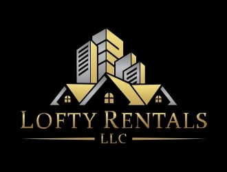 Lofty Rentals, LLC logo design