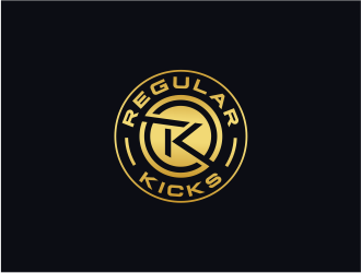 Regular Kicks logo design