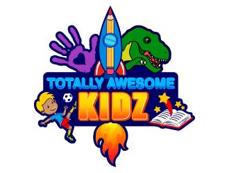 Totally Awesome Kidz logo design