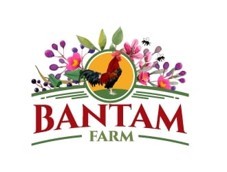 Bantam Farm logo design
