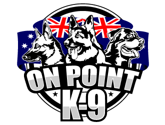On Point K-9 logo design