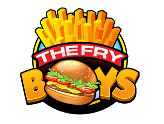 The Fry Boys logo design