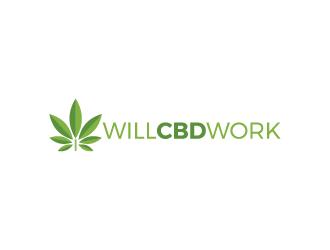 Will CBD Work logo design
