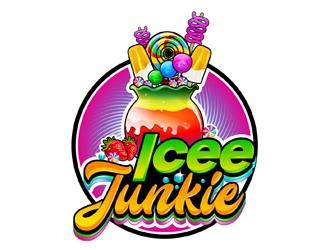 Icee Junkie logo design