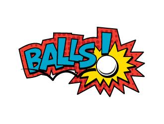 BALLS! logo design