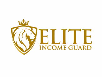 Elite Income Guard logo design